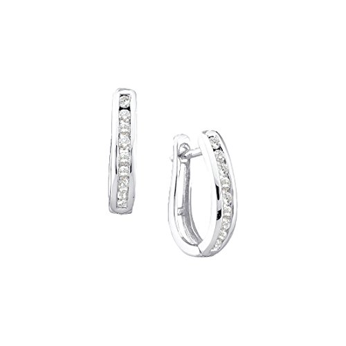 1/4 Carat DIAMOND LADIES FASHION HOOPS by Jawa Fashion