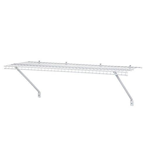 ClosetMaid 51041 Prepack Wire Shelf Kit, (Wire Closet Shelving)