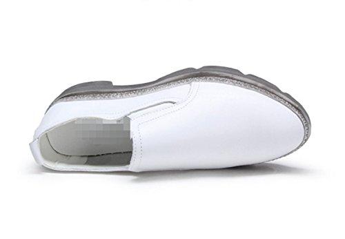 Zapatos ocasionales de las mujeres/Zapatos puntiagudos/Mocasín/Fija los pies zapatos A