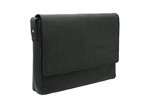 Visconti Messenger Bag 18516 Oil Tan Oil Black WfNMfP7n