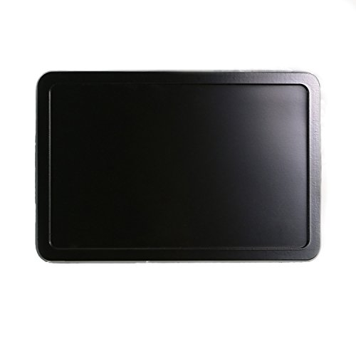 Landisun Handmade DIY Plain Frame Rectangle Belt Buckle Black