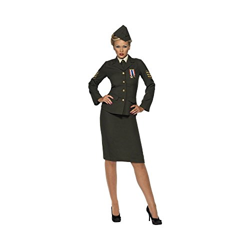 Ladies 1940's WW2 Wartime Officer Costume for $<!--$35.03-->