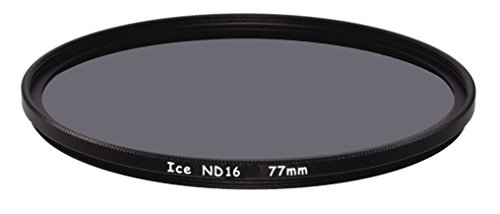 ICE 77mm ND16 Filter Neutral Density ND 16 x 4 Stop Optical Glass 77