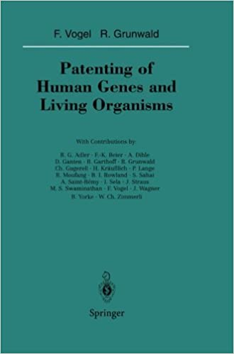 Book Patenting of Human Genes and Living Organisms (Sitzungsberichte der Heidelberger Akademie der Wissenschaften) (1994-01-01)