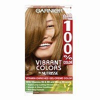 Garnier 100% Color Vitamin-Enriched Gel Crème, 630 Light Golden Brown