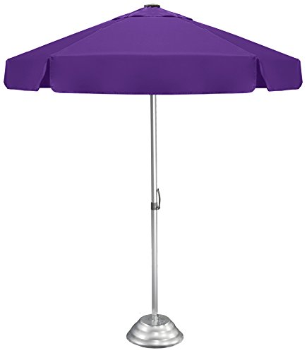 """Strombergbrand """"The Vented Bistro"""" Patio Umbrella, Large, Commercial-Quality, Café-Style Umbrella with Patented Construction, Purple"""