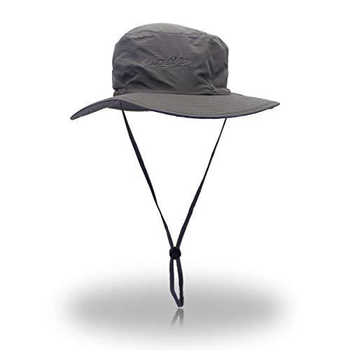 Rápido De Un Hechgobuy Paquete Sombrero Gris Escalada Oscuro color 3 Oval 56 Callejón Tamaño Naranja Pescador 50xRgwn1g