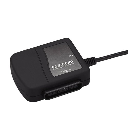 Elecom USB to PS / PS2 game pad converter (black) JC-PS101UBK by Elecom