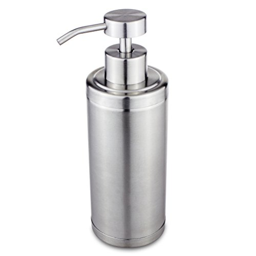 Riovoca Kitchen Countertop Stainless Steel Soap Dispenser Pump Import It All