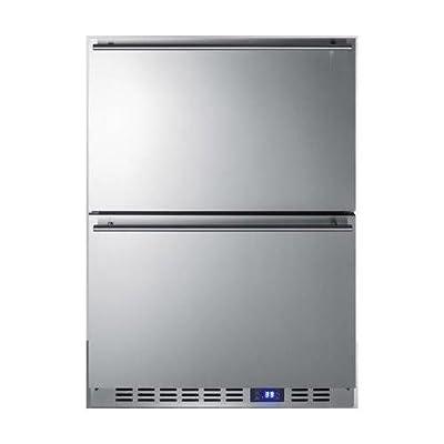 Summit SPR627OS2D Built-in Drawer Refrigerator, Stainless Steel