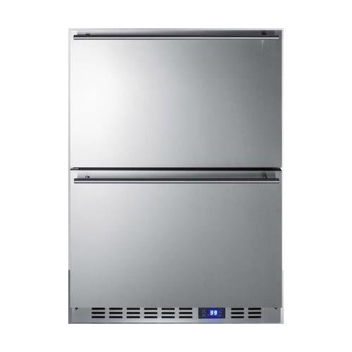 Summit SPR627OS2D Built-in Drawer Refrigerator, Stainless Steel by Summit (Image #1)