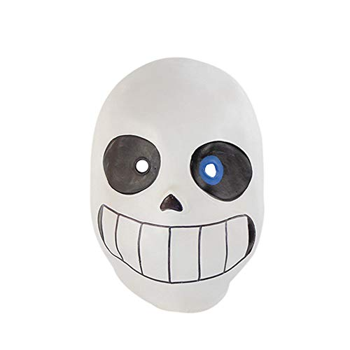Tuscom Latex Full Head Hood Masque,for Halloween Adult Kid's Costume Accessory Mask (White) ()