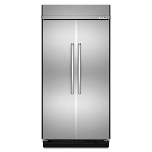 KitchenAid® 30.0 cu. ft 48-Inch Width Built-In Side by Side Refrigerator