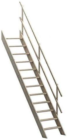 Oxford 70 Sunlux escalera para desván escaleras de madera Kit/escalera 700 mm Ancho + anti-peldaños antideslizantes: Amazon.es: Bricolaje y herramientas