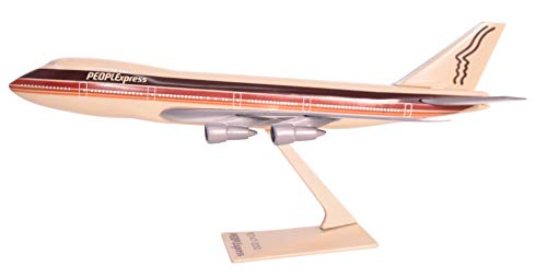 PEOPLExpress 747-100/200 Aeroplane Miniature Model Plastic Snap-Fit 1:250 Part ABO-74710I-013の商品画像