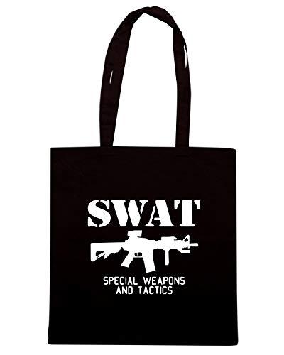 Speed Shirt Borsa Shopper Nera TM0537 SWAT