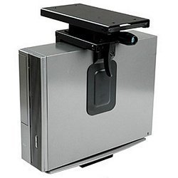 Cpu Storage (Ziotek Under Desk Sliding And Rotating Mini CPU Holder Computer Mount, CS-51, Fits Up To 4 Inch x 14 Inch)