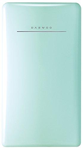 Daewoo Retro Compact Refrigerator 4.4 Cu Ft, Mint
