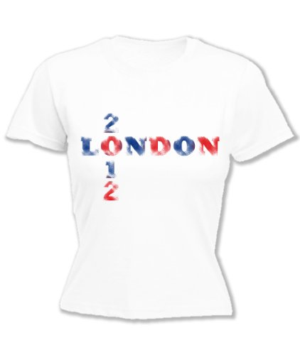 Hoodiii Womens Printed T Shirt London 2012 Xs - London T-shirt 2012
