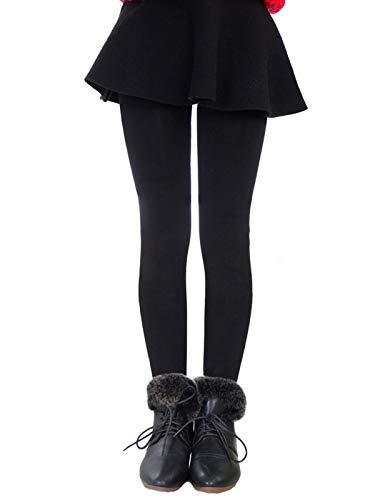 Govc Girls Winter Warm Fleece Lined Elastic Waist Velvet Stretchy Thick ()