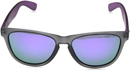 Polaroid Grey P8443 Violet Homme soleil Lunette Gris Grey Rectangulaire de ggxnPUqw7p