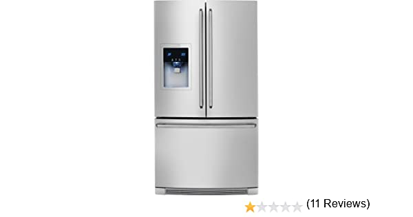 amazoncom electrolux ew23bc85ks wavetouch 226 cu ft stainless steel counter depth french door energy star appliances