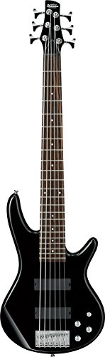 Ibanez 6 String Bass Guitar, Right Handed, Black (GSR206BK)