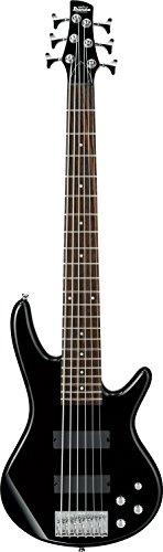 Ibanez 6 String Bass Guitar, Right Handed, Black (GSR206BK)