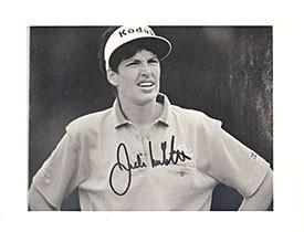Autographed Julie Inkster Photo - 8x10 - Autographed Golf Photos - Julie Inkster Memorabilia