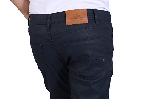 coated Ticket Homme Jeans Wash Blue Rinse tAa6UqO