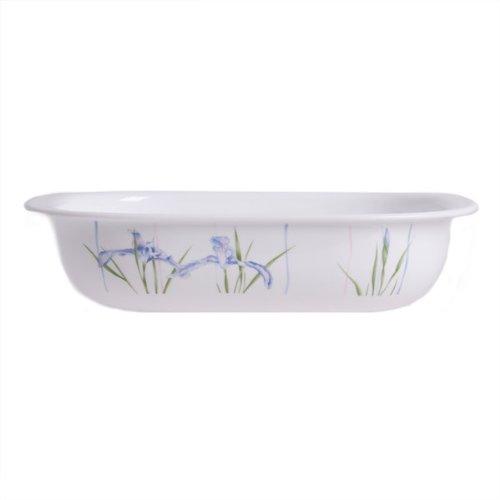 SimplyLite 2-Quart Lightweight Baking Dish Shadow Iris Design - Iris Lite