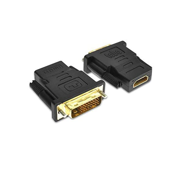 VOSAVO HDMI Male to VGA Female Video Converter Adapter Cable (Black)
