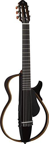 Yamaha SLG200N Nylon String Silent Guitar, Translucent Black
