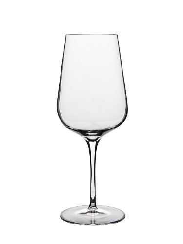(Luigi Bormioli 10047/06 Intenso No.450 15.25 oz White Wine Glasses (Set Of 6), Clear)
