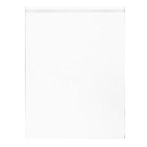 - ClearBags 16 7/16 x 20 1/8 Clear Large Cello Bags | Resealable Adhesive on Flap, Not Bag |  Fits 16 x 20 Photos Documents Storage | Acid Free and Archival Safe | B16A (Pack of 100)
