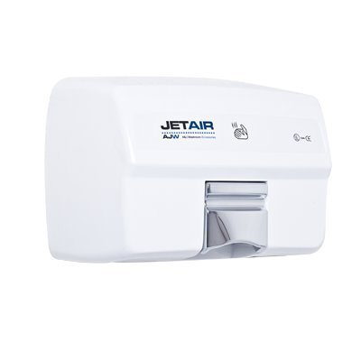 AJW U1525EA-120V Automatic 120 Volt Hand Dryer, White Powder Coat from ajw