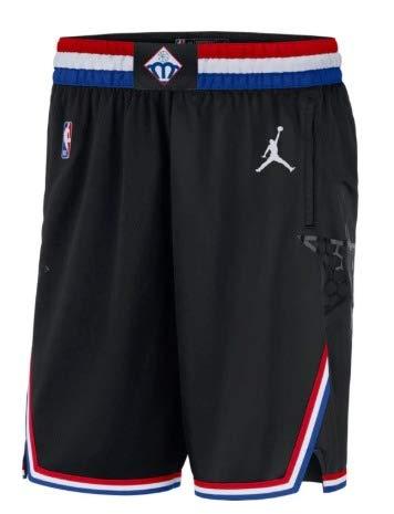 ジョーダン メンズ NBA All-Star 2019 Jordan Swingman All-Star Shorts バスパン Black ショーツ ハーフパンツ オールスター [並行輸入品] B07PGB8FC7  M