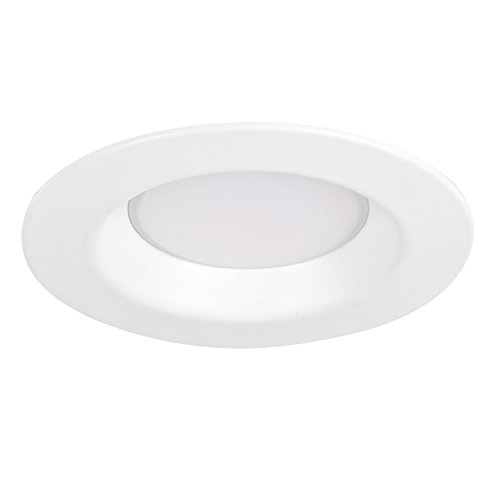 Hykolity 6 Inch White LED Remodel Recessed Lighting Kits, IC Rated Remodel Housing and Dimmable LED Downlight Wet Rated 15W 1100lm 5000K Daylight White ETL Listed - Pack of 4 by hykolity (Image #5)
