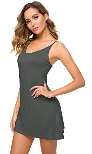 Camisole Mini Dress - WiWi Women's Bamboo Full Slip