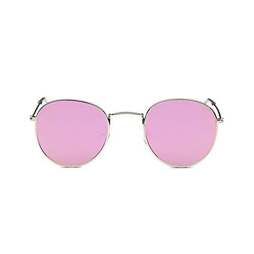 Glasses redondas sol 12 de Gafas protección Puntos mujeres Sun vendimia de Unisex las de de attachmenttou Gafas solar la wq7nWxtUE