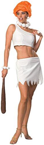 Wilma From The Flintstones Costume (Secret Wishes Women's The Flintstones Sassy Adult Wilma Flintstone Costume, Multicolor, Medium)