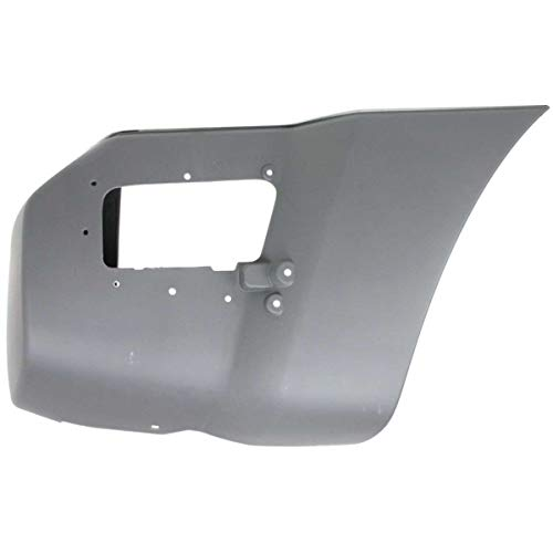 New Right Passenger Side Rear Bumper End For 2005-2015 Nissan Xterra Textured NI1105116C -