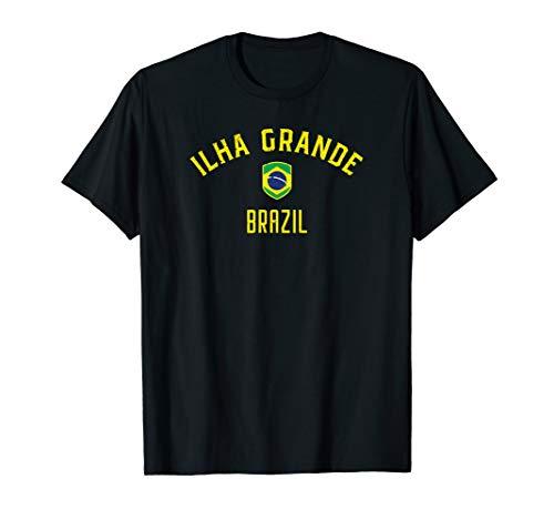 Ilha Grande Brazil T-Shirt - Brazilian Flag Tee