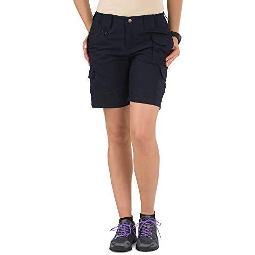 (5.11 Women's TACLITE Tactical Shorts, Style 63071, Dark Navy, 2)