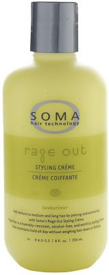 Soma Rage Out Texturizer Styling Creme 8 oz by Soma Hair