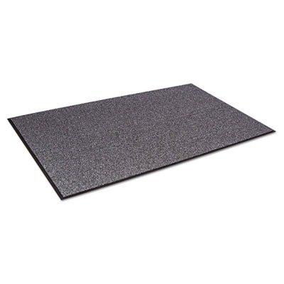 (Crown CS0046GY Cross-Over Indoor/Outdoor Wiper/Scraper Mat, Olefin/Poly, 48 x 72, Gray)