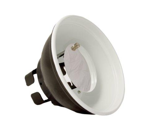StudioPRO Beauty Dish for Speedlight On Camera Flash Photography Light Modifier – Fits Canon, Nikon, Olympus, Sony, Panasonic, Pentax, Sigma & Other External Flash Units