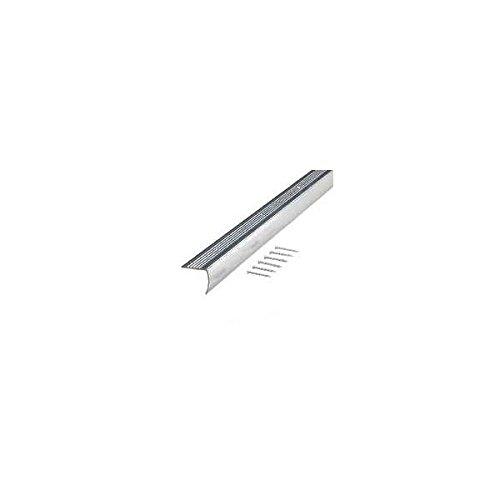 M-D 66035 1-1/8'' X 36'' PB Aluminum Floor & Carpet Stair Edging