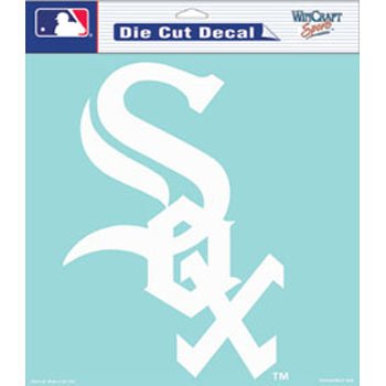 WinCraft MLB Chicago White Sox Die-Cut Decal, 8
