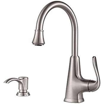 Pfister Pasadena Single Handle Bar Faucet In Stainless